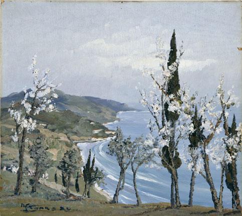 Sei in home > opere > primavera sulla costa ligure