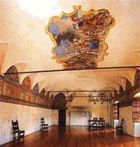 Interno del palazzo Besta